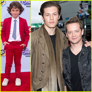 Leo Howard & Jason Earles 'Kick It' To The RDMAs 2015