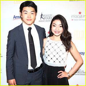 Ice Dancers Alex and Maia Shibutani Hit Up Figure Skating In Harlem Gala