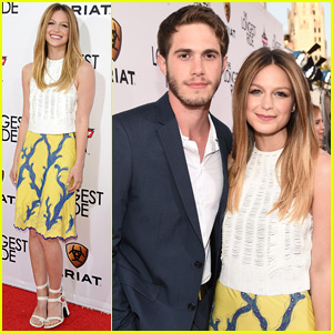Melissa Benoist & Blake Jenner Couple Up for 'The Longest' Ride Premiere