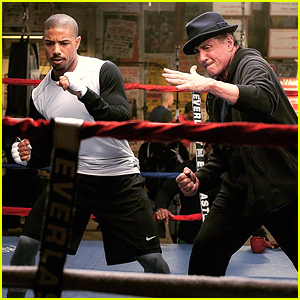 Michael B. Jordan Trains Hard in First 'Creed' Still