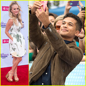 Jordan Fisher & Mollee Gray Bring 'Teen Beach 2' To RDMAs 2015
