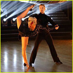 Nastia Liukin & Derek Hough Recreate Her Olympic Moment With 'DWTS' Argentine Tango