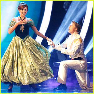 Nastia Liukin & Derek Hough Prove 'Love is an Open Door' on 'DWTS'
