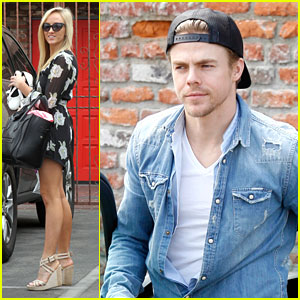 Derek Hough Is Off His Crutches Already