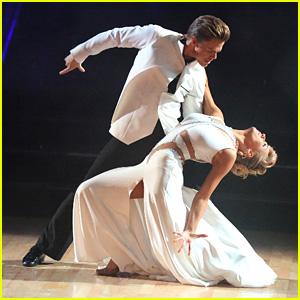 Nastia Liukin & Derek Hough Take on the 'DWTS' Tango