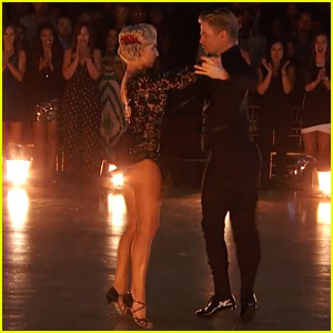 Nastia Liukin & Derek Hough Do the Argentine Tango on 'DWTS' - Watch Now!
