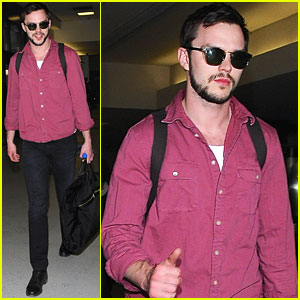 Nicholas Hoult Says He Looks Like A 'Kid Dressed Up' In A Suit