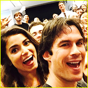 Ian Somerhalder & Nikki Reed Surprise Emory University Students on April Fools' Day