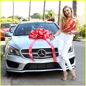 Peyton List Gets a Brand New Car for Her 17th Birthday!