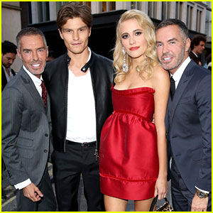 Pixie Lott & Oliver Cheshire Party It Up With DSquared in London