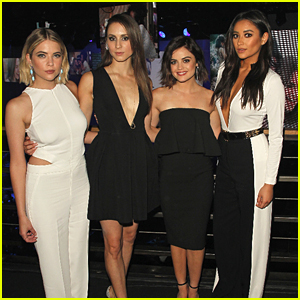 Lucy Hale & Troian Bellisario Bring 'Pretty Little Liars' To ABC Family Upfronts
