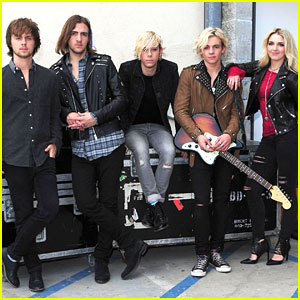 See Pics Of R5's 'Let's Not Be Alone Tonight' Video Shoot!