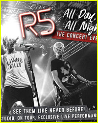 Who's Seeing R5's 'All Day All Night' In Theaters TONIGHT?
