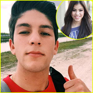 Rahart Adams Hijacks Paola Andino's Phone & The Twitter Convo To Follow Is Adorable