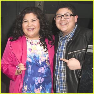 Raini Rodriguez Brings Brother Rico Along For 'Paul Blart' Promo in New York City