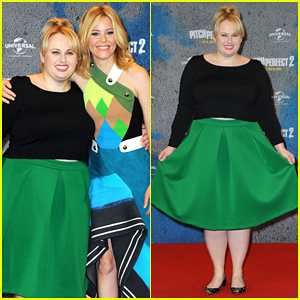 Rebel Wilson Joins Elizabeth Banks in Berlin & Paris for 'Pitch Perfect 2' Press!