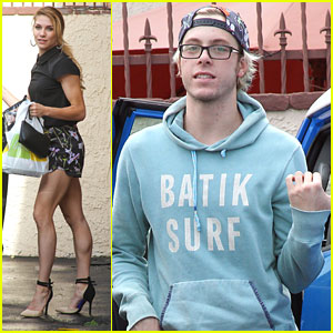 Riker Lynch & Allison Holker Get In All The Practice They Can Before RDMAs 2015