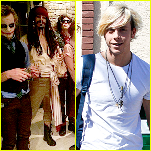 It's A Pirates Life For Riker Lynch & Allison Holker For Disney Week on 'DWTS'