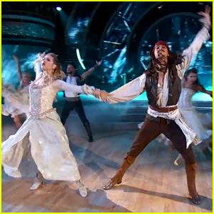 Riker Lynch & Allison Holker Do the Paso Doble as 'Pirates' on 'DWTS' - Watch Now!