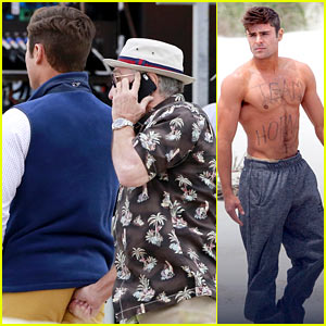 Zac Efron Got His Butt Violated By His 'Dirty Grandpa' Today!