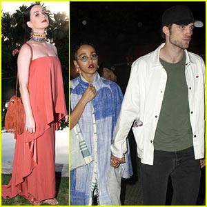 Robert Pattinson & FKA twigs Continue the Coachella Couple Cuteness!