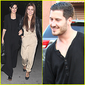 Rumer Willis Dines Out With Jenna Johnson After 'DWTS' Practice With Val Chmerkovskiy