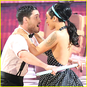 Rumer Willis & Val Chmerkovskiy Take on 60s Jive on 'DWTS'