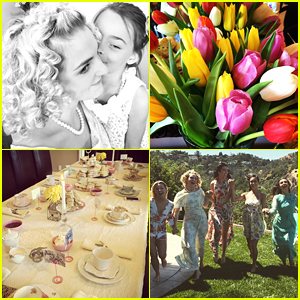 Rydel Lynch Throws The Perfect Springtime Tea Party - See The Pics!