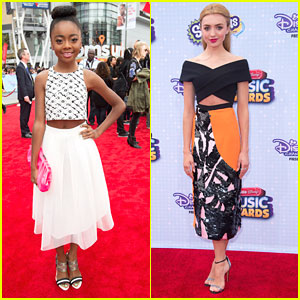 Skai Jackson: Neon Green Pedicure For RDMAs 2015!