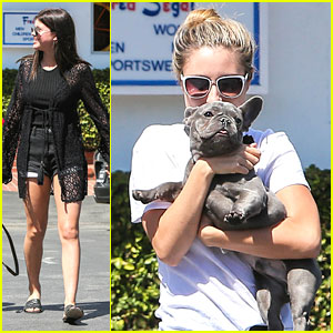 Sofia Richie Spends Friday With Friends