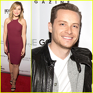 Sophia Bush Gets Some 'Chicago PD' Support at 'Michigan Avenue' Cover Party