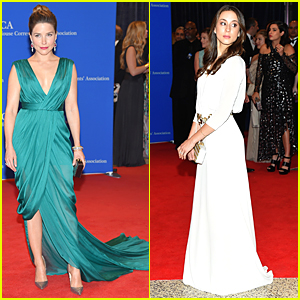 Sophia Bush & Troian Bellisario Attend the WHCD 2015!