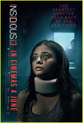 See The New 'Insidious: Chapter 3' Posters With Stefanie Scott!