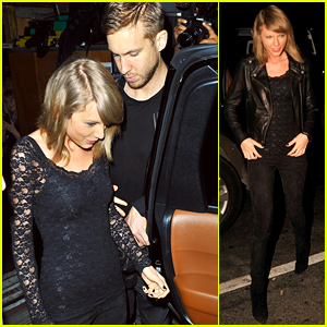 Taylor Swift & Calvin Harris Seen Holding Hands Again at the Haim Concert