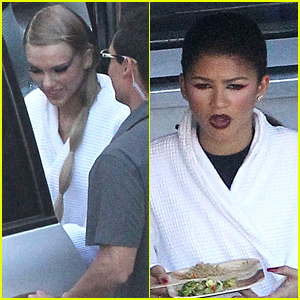 Taylor Swift Seen On Music Video Set with Zendaya!