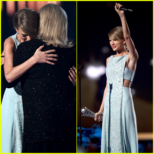 Taylor Swift's Mother Andrea Gives Very Emotional Speech at ACM Awards 2015 - Watch Now