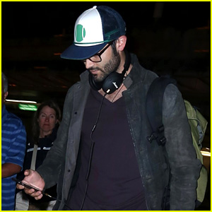 Tyler Hoechlin Lands Back in L.A. After Talking About 'Teen Wolf' in Seattle