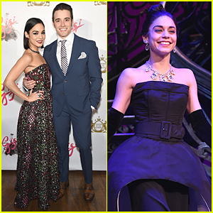 Vanessa Hudgens Turns Heads at 'Gigi' Opening Night After Party