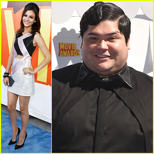Victoria Justice & Harvey Guillen Bring 'Eye Candy' To MTV Movie Awards 2015
