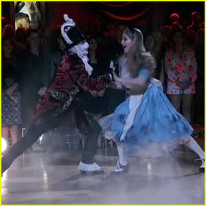 Willow Shields Becomes Alice in Wonderland During 'DWTS' Foxtrot - Watch Now!
