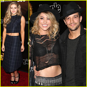 Willow Shields & Mark Ballas Hit 'DWTS' 10th Anniversary Party After Derek Hough's Injury