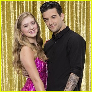 Willow Shields & Mark Ballas Become Ninjas for Futuristic Jazz on 'DWTS' - Watch Now!