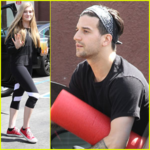 Willow Shields & Mark Ballas Head 'To The Arena' For Contemporary Dance