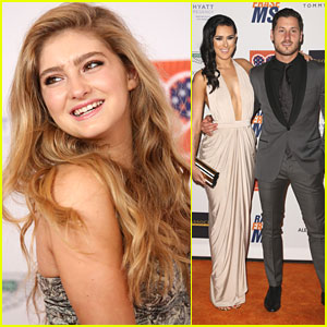 Willow Shields & Rumer Willis Dance Their Way To Race to Erase MS Gala