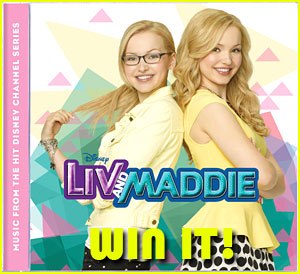 Win a FREE 'Liv And Maddie' Soundtrack SIGNED By Dove Cameron!