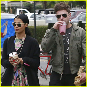 Zac Efron & Sami Miro Grab Smoothies Together at Oaks Gourmet