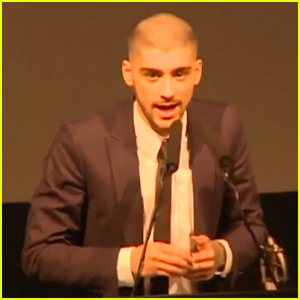 Zayn Malik Mentions One Direction During Asian Awards Acceptance Speech (Video)