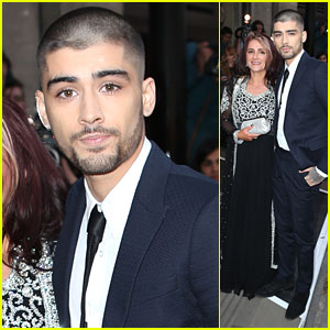 Zayn Malik Shaves Head For First Solo Appearance At Asian Awards 2015