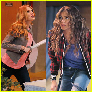 Bella Thorne Reunites With Zendaya On 'K.C. Undercover' Tonight - Get A Sneak Peek Here!