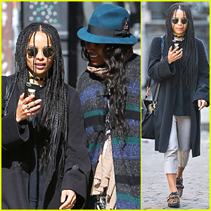 Zoe Kravitz Doesn't Read Mean Instagram Comments Anymore